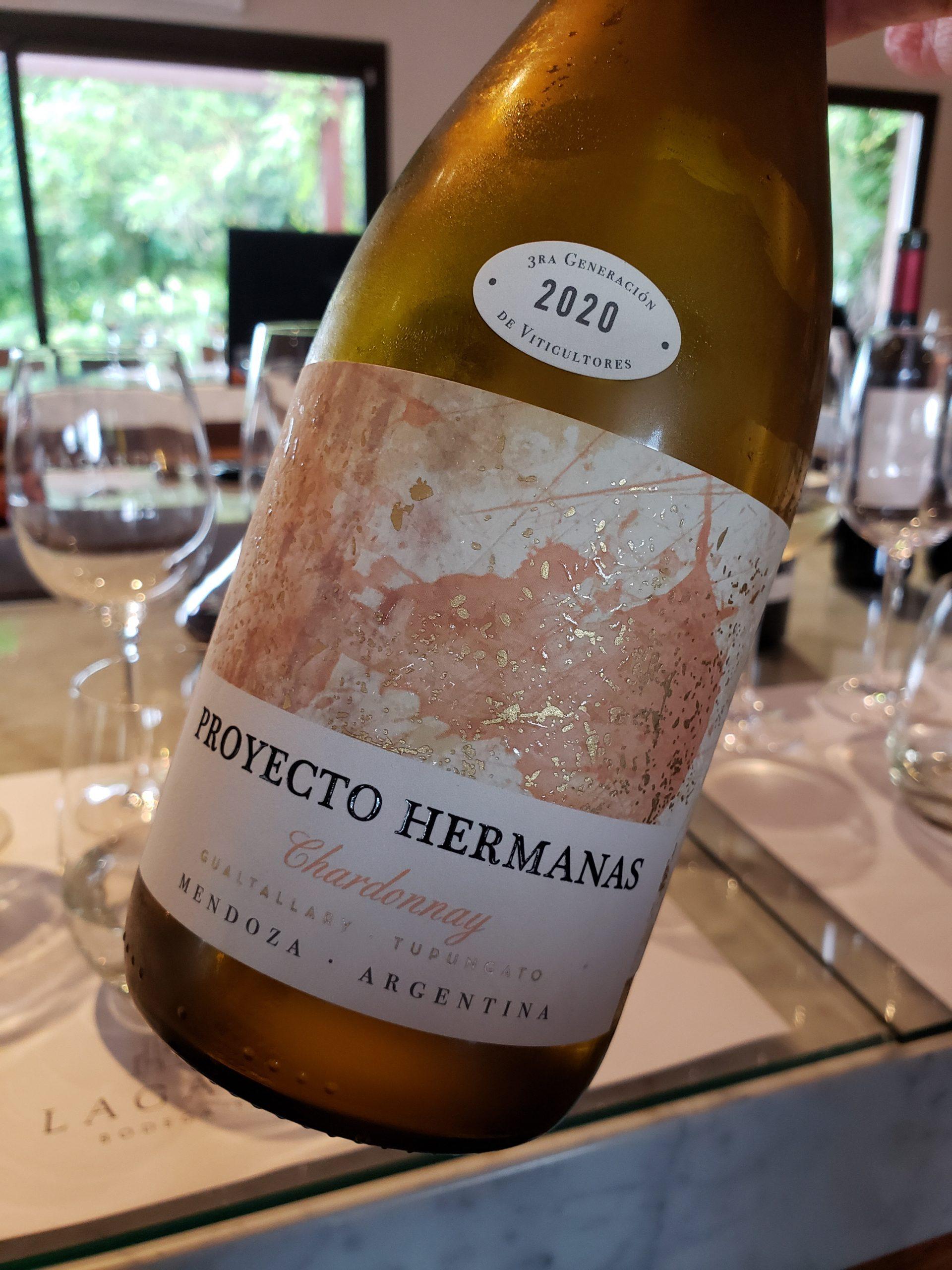 Bodega Lagarde - Proyecto Hermanas Chardonnay 2020