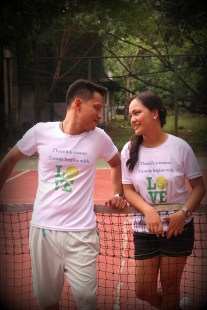 Love means 'nothing' in tennis but it means 'everything' to us