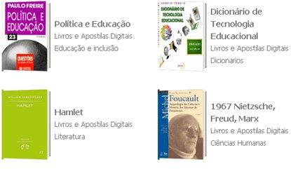O iAulas possui um grande acervo de livros e apostilas digitais (2)