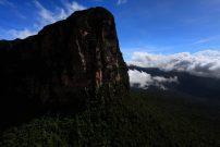 Viagem ao Monte Roraima aéreas de fronteira Brasil e Venezuela e Guiana, para fiscalização dos marcos regulatórios acompanhando a Primeira Comissão Brasileira Demarcadora de Limites - PCDL, Brasil, Venezuela e Guiana. ©Paulo Santos 26 / 11 / 2016