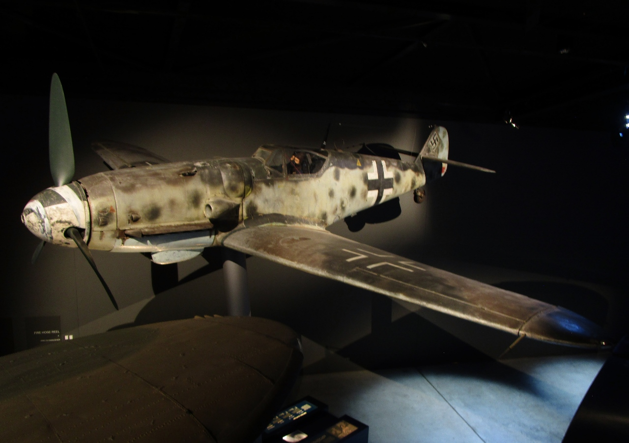 Australian War Memorial: Messerschmitt Bf 109G-6