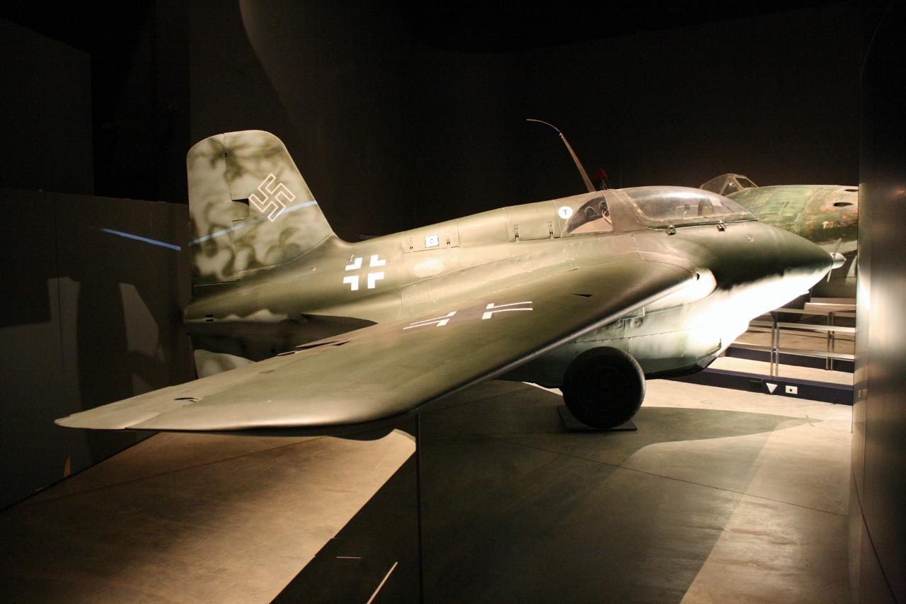 Australian War Memorial: Messerschmitt Me-163 Komet