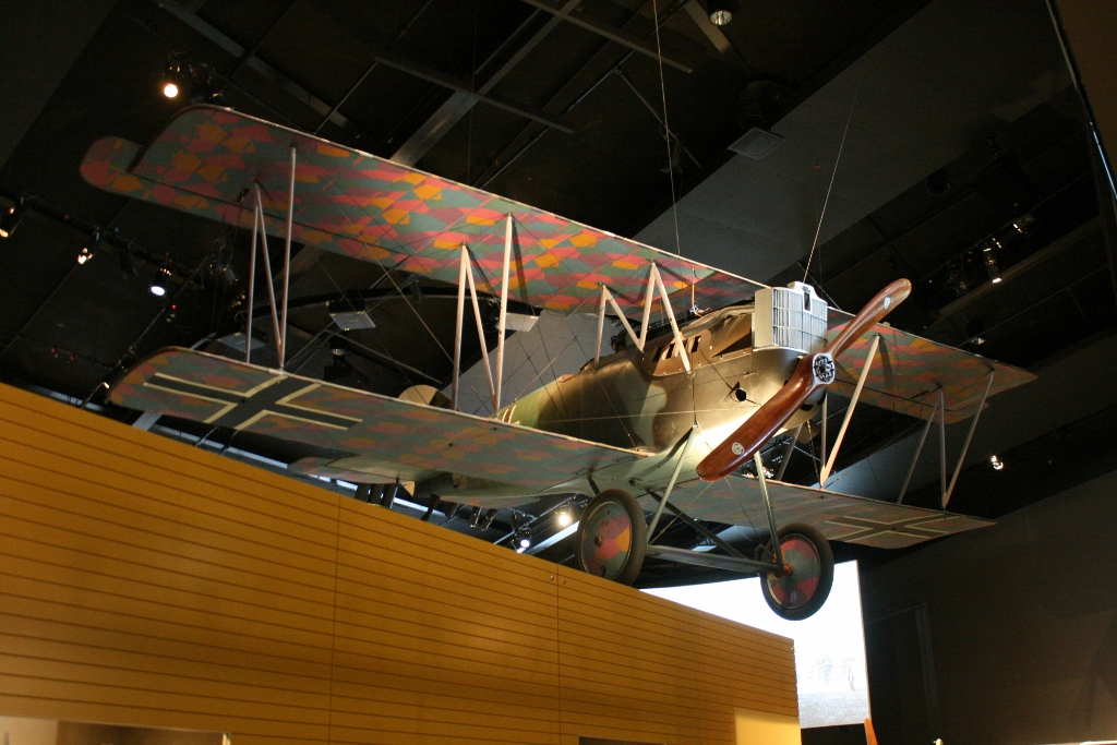 Australian War Memorial: Knights of the Sky – Pfalz D.XII Scout Aircraft