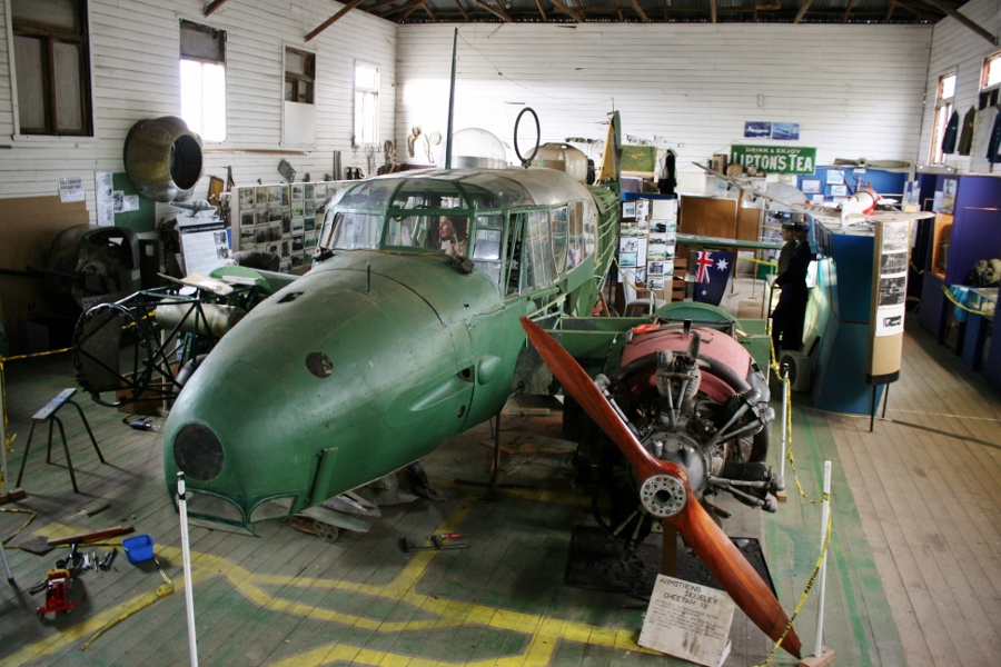 The Former RAAF Ballarat Airbase & Friends of the Anson Air Museum
