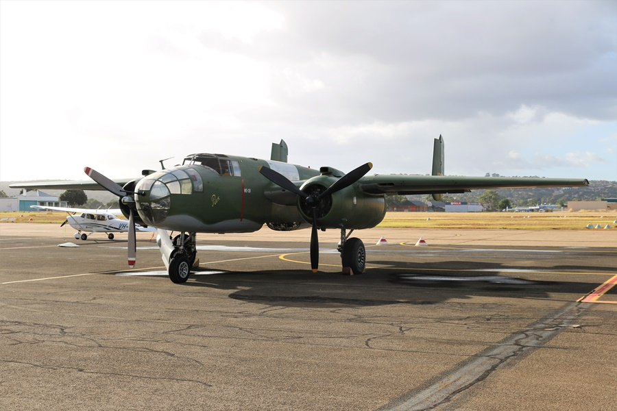 "Reevers Warbirds B-25 Mitchell Restoration – ""Pulk"" a Dutch Tribute"