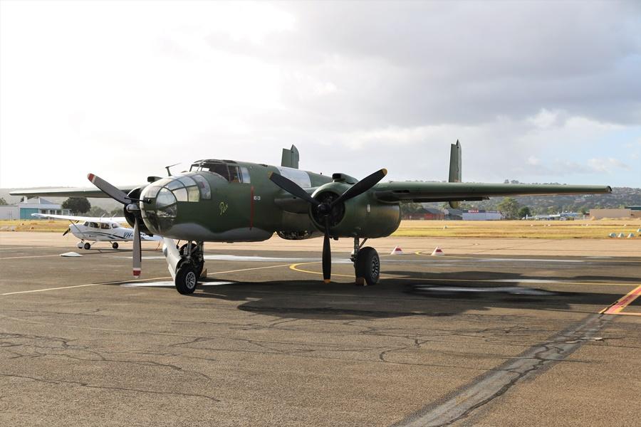 "Reevers Warbirds B-25 Mitchell Restoration – ""Pulk"" a Dutch Tribute"