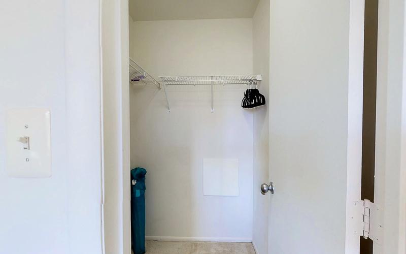 ParcReston Condo Unit J - Bedroom 2 - WIC