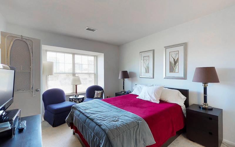 ParcReston Condo Unit J - Bedroom 1