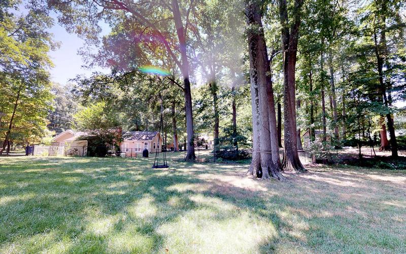7712 Frances Drive, Alexandria  - Backyard