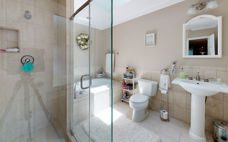 7712 Frances Drive, Alexandria  - Master Bath