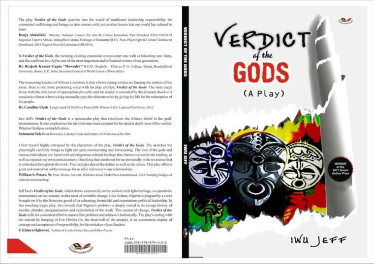 Verdict of the gods by Iwu Jeff