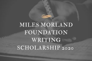 Morland Writing Scholarships
