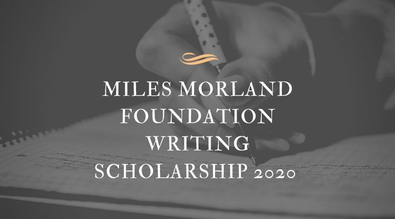 Morland Writing Scholarships