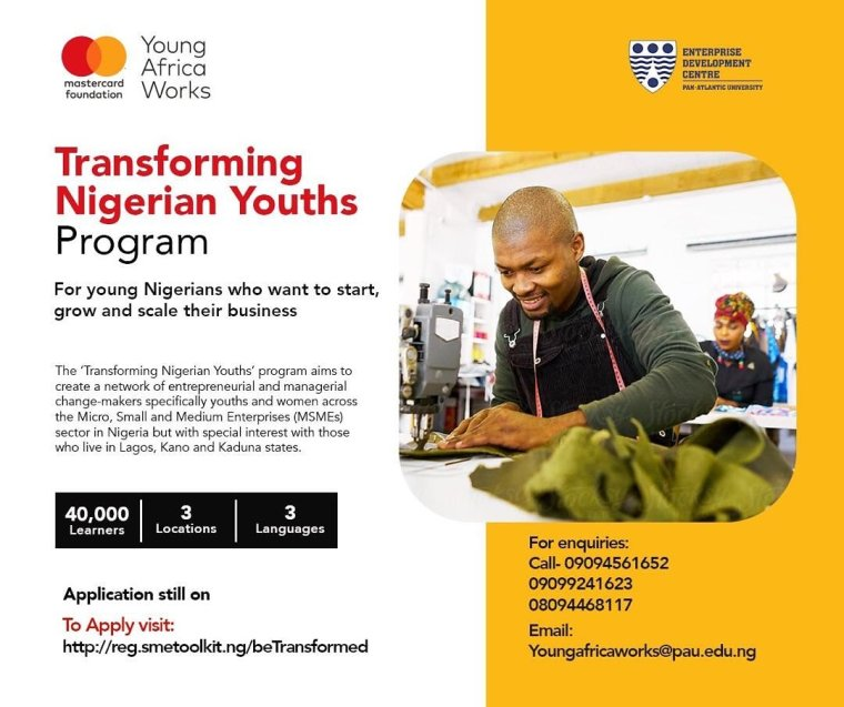 Mastercard Foundation's Transforming Nigerian Youths Program
