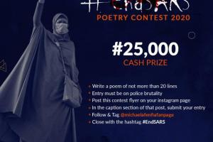 #EndSARS Poetry Contest 2020