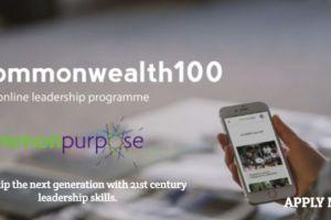 2020 Commonwealth100 Online Leadership Development Programme