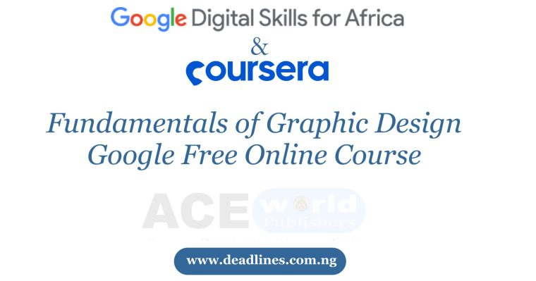 Fundamentals of Graphic Design | Google Free Online Course