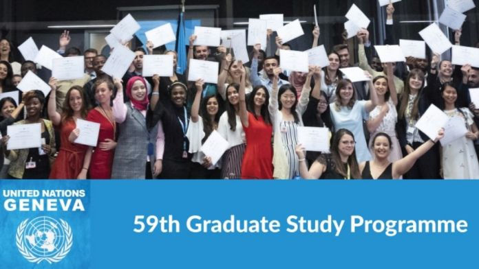 2021 United Nations Information Service's Graduate Study Programme