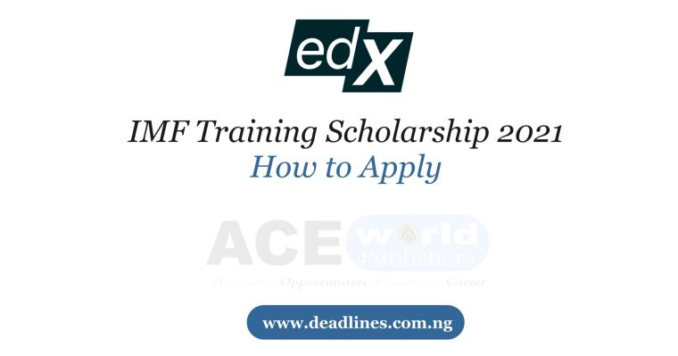 IMF Training Scholarship 2021