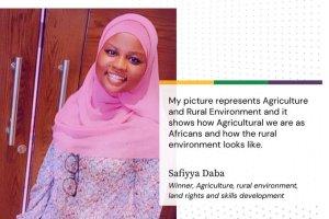 Nigerian Photographer, Safiyya Daba Wins Agenda2063 Photojournalism Award