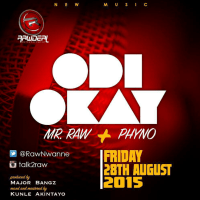 Mr. Raw ft. Phyno - ODI OKAY (prod. by Major Bangz)