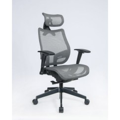 Executive Mesh Office Chair Stadium Company Chairs Silver