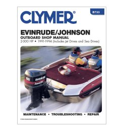 clymer evinrude johnson 2 300 hp outboards includes jet drives and sea drives [ 1000 x 1000 Pixel ]