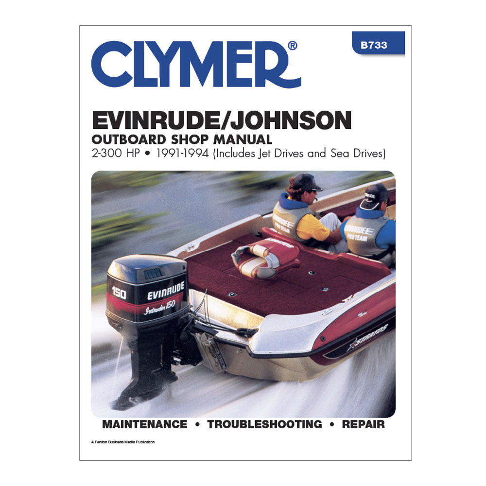 hight resolution of clymer evinrude johnson 2 300 hp outboards includes jet drives and sea drives