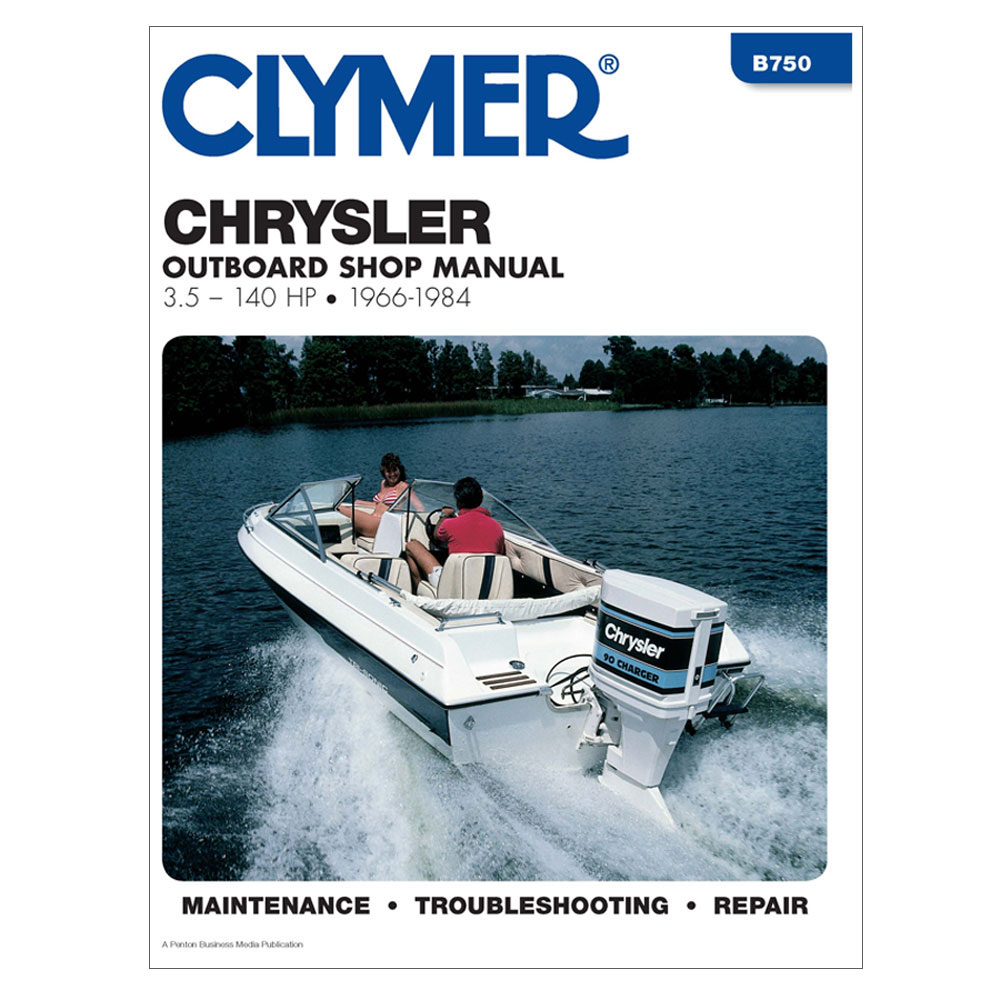hight resolution of clymer chrysler 3 5 140 hp outboards 1966 1984