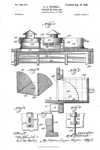 Blueprint of the A.E. Stilwell oyster car.