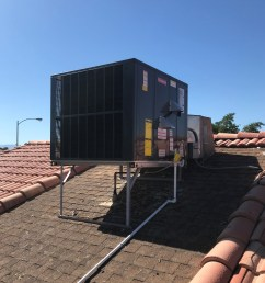 goodman 4 ton 16 seer multi position heat pump gph1648m41 installed  [ 3013 x 3013 Pixel ]