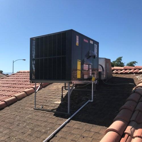 small resolution of goodman 4 ton 16 seer multi position heat pump gph1648m41 installed