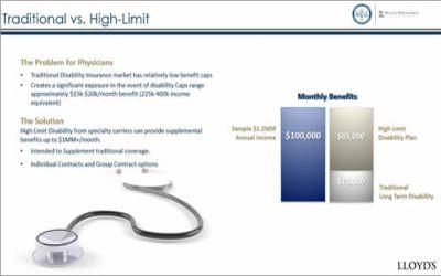 Benefit Webinar: High-Limit Disability Insurance