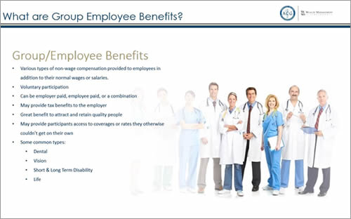 Benefit Webinar: Group Employee Benefits