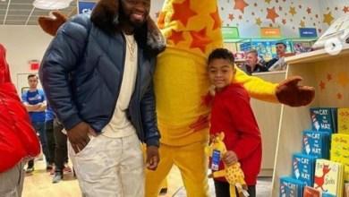 Photo of 50 Cent presenteia o filho com loja de brinquedos: 'É tudo seu'