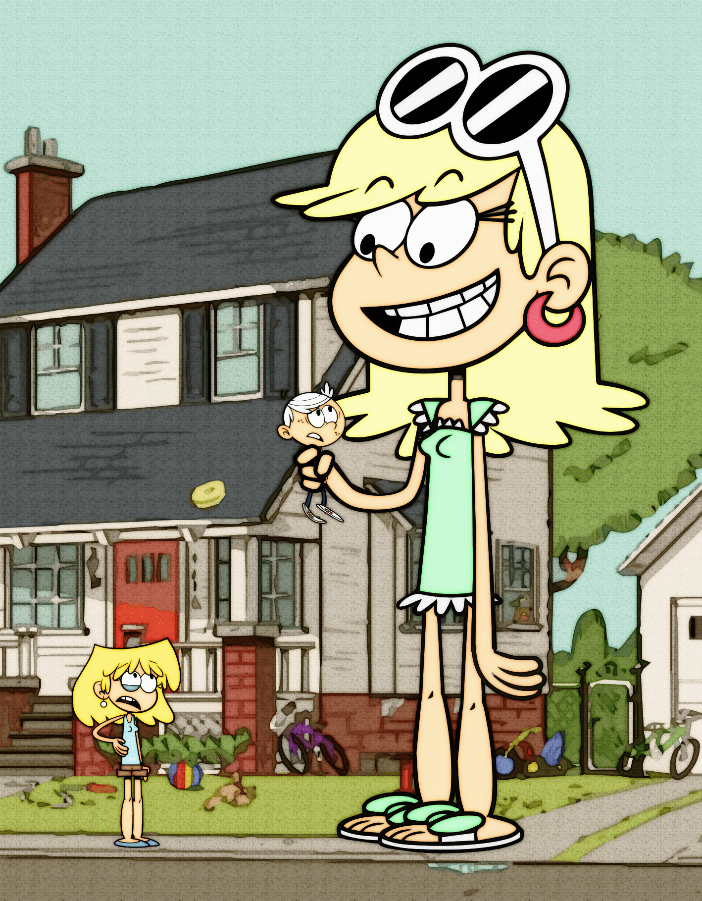 The Loud House Sitting Bull : house, sitting, House, Pictures