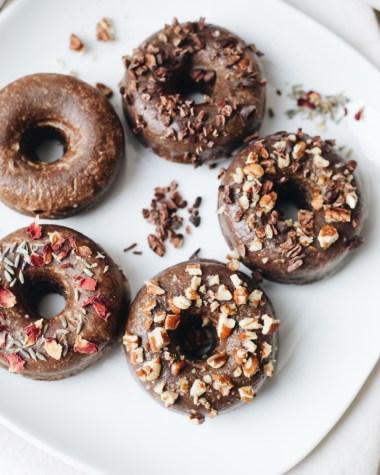 Paleo Donuts mit Kakao