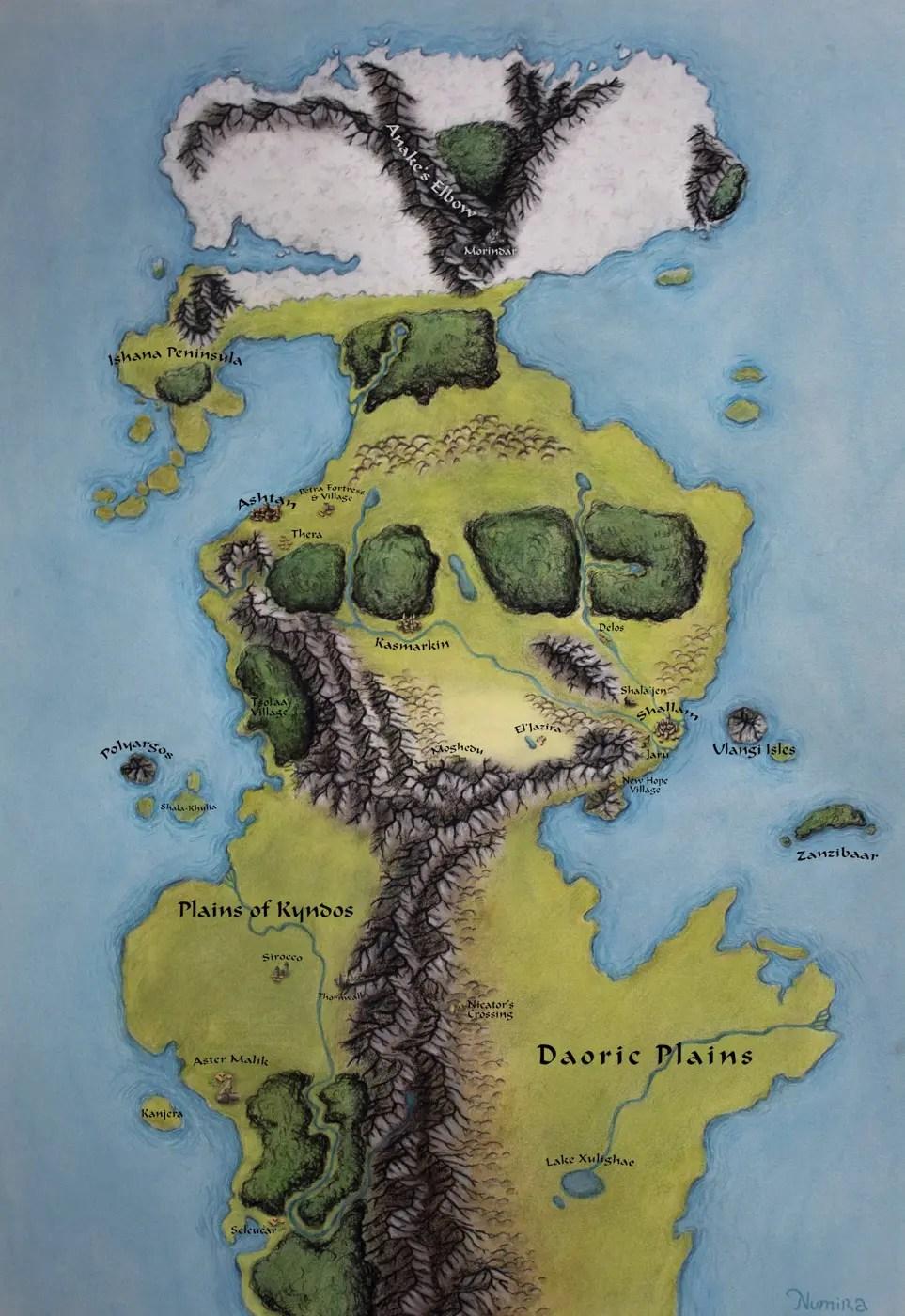 Lost Veil Of Anzu Map : Plains, Eidolon, World, Atlas
