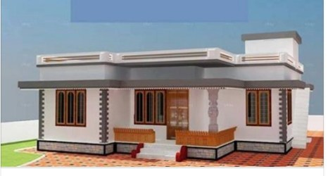 budget low cost plans lakhs designs bedroom front simple plan room interior modern below homes inside achahomes amazing