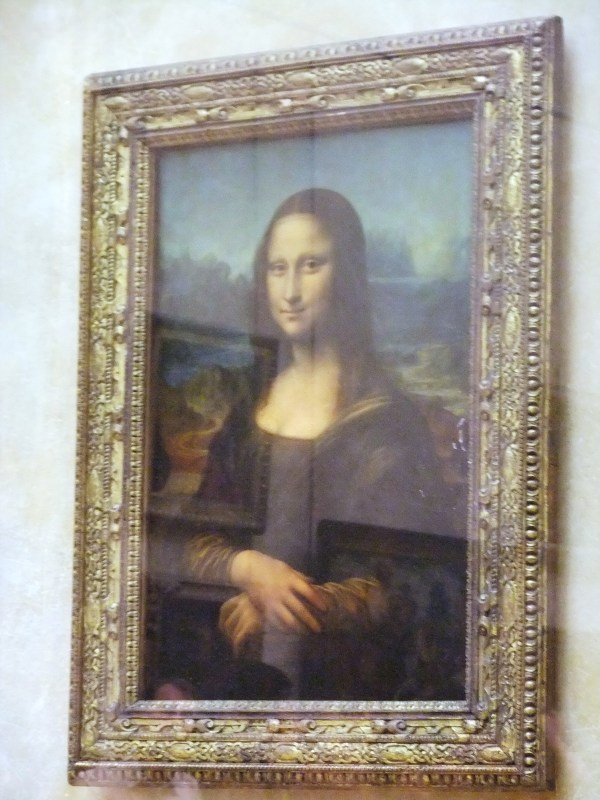 Mona Lisa Louvre Museum Paris France