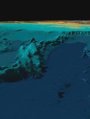 Underwatermountainrangeatnorthpole