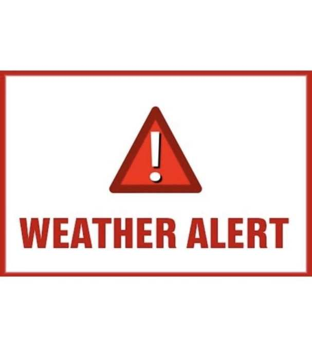Winter Weather Alert – updated