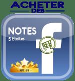 Acheter des notes 5 étoiles facebook