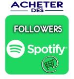 Nos followers Spotify vous aideront à accroitre votre popularité sur Spotify