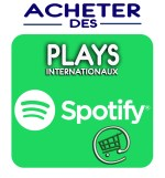 Booster votre notoriété Spotify avec nos Plays Spotify