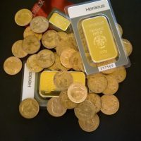 Achat de pièces et de lingots en or