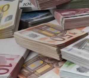 500€ en cash + virement