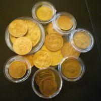Les pièces en Or