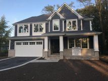 Exterior Custom Home In Glenview