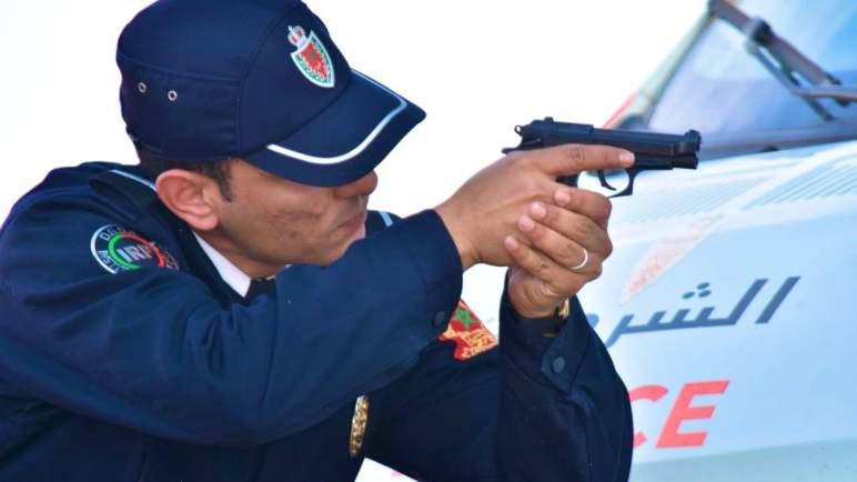 إطلاق الرصاص للسيطرة على مسلح في تمارة